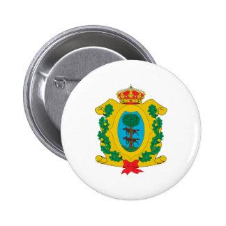 Coat of arms of Durango Mexico Official Symbol Pinback Button