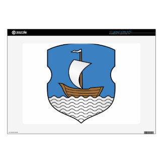 "Coat_of_Arms_of_Dzisna,_Belarus 15"" Laptop Skins"