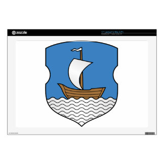 "Coat_of_Arms_of_Dzisna,_Belarus 17"" Laptop Skin"
