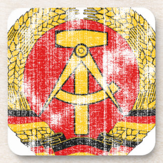 Coat of arms of East Germany Beverage Coaster
