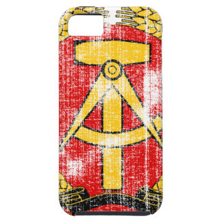 Coat of arms of East Germany iPhone 5 Cover