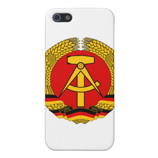 Coat of arms of East Germany Case For iPhone 5