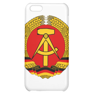 Coat of arms of East Germany iPhone 5C Covers