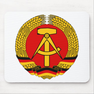 Coat of arms of East Germany Mouse Pad