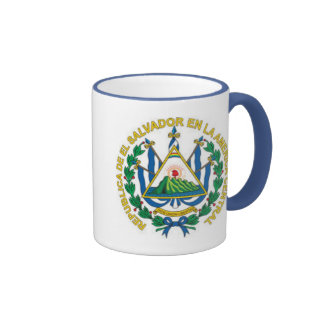 Coat of Arms of El Salvador Coffee Mugs