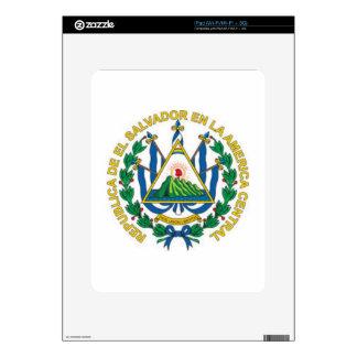 Coat of Arms of El Salvador Decals For The iPad