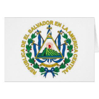 Coat of Arms of El Salvador Greeting Cards