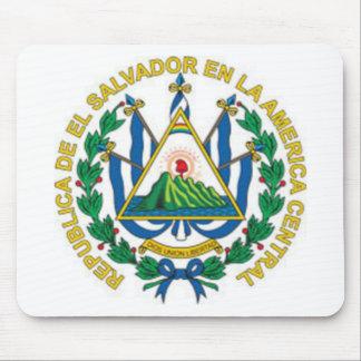 Coat of Arms of El Salvador Mouse Pads