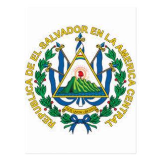 Coat of Arms of El Salvador Postcard