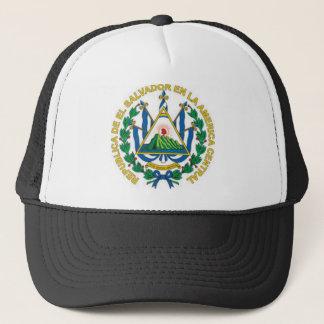 Coat of Arms of El Salvador Trucker Hat