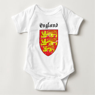 Coat of arms of England Baby Bodysuit