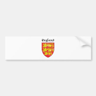 Coat of arms of England Bumper Sticker