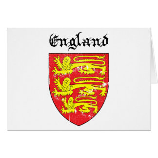 Coat of arms of England Card