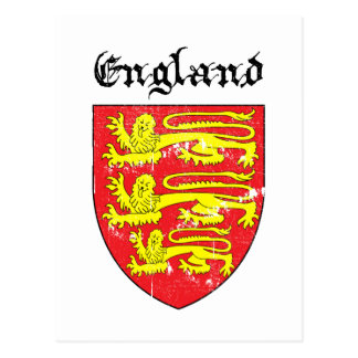 Coat of arms of England Postcard