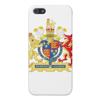 Coat of Arms of England Used By Queen Elizabeth I Case For iPhone SE/5/5s