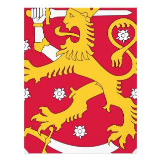 Coat of Arms of Finland - Suomen Vaakuna Letterhead