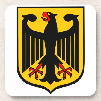 Coat of Arms of Germany. Coaster