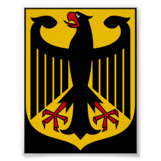 Coat of arms of Germany Poster