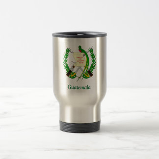 Coat of arms of Guatemala 15 Oz Stainless Steel Travel Mug