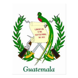 Coat of arms of Guatemala Postcards