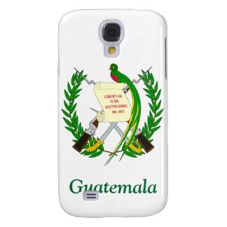 Coat of arms of Guatemala Samsung Galaxy S4 Cases