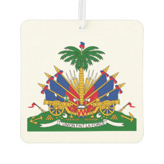 Coat of arms of Haiti Air Freshener