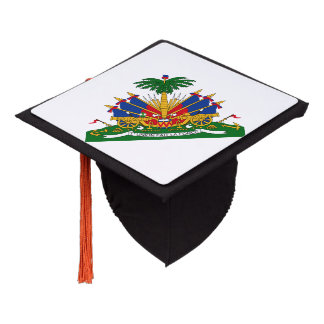 Coat of arms of Haiti Graduation Cap Topper