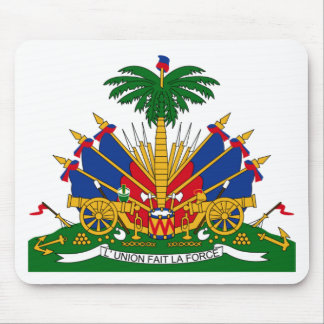 Coat of arms of Haiti Mouse Pad