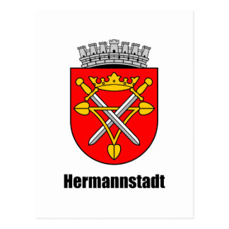 Coat of arms of Hermannstadt Post Card