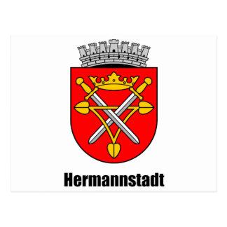 Coat of arms of Hermannstadt Postcard