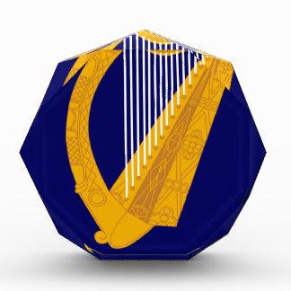 Coat of arms of Ireland - Irish Emblem Acrylic Award