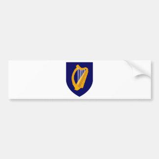 Coat of arms of Ireland - Irish Emblem Bumper Sticker