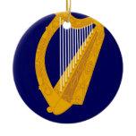 Coat of arms of Ireland - Irish Emblem Ceramic Ornament