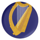 Coat of arms of Ireland - Irish Emblem Dinner Plate