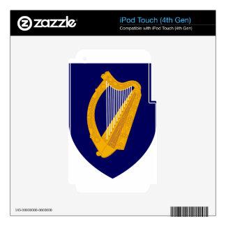 Coat of arms of Ireland - Irish Emblem iPod Touch 4G Skins