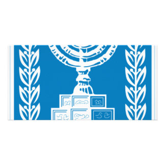 Coat of arms of Israel - Israel Seal and Shield Personalized Photo Card