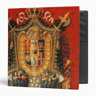 Coat of Arms of Italy, design for a tapestry 3 Ring Binder