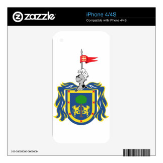 Coat_of_arms_of_Jalisco_(2005-2011) Skins For The iPhone 4