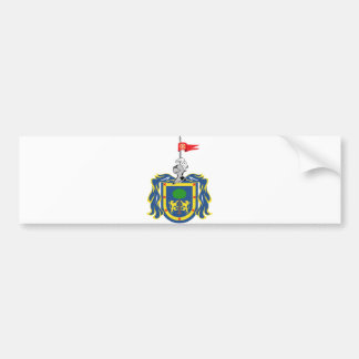 Coat of Arms of Jalisco Mexico Official Symbol Car Bumper Sticker