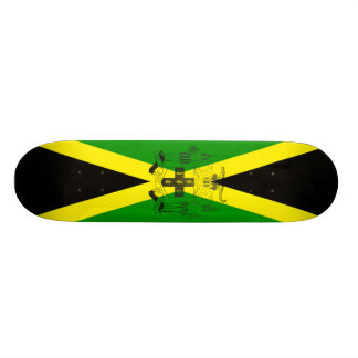 Coat_of_Arms_of_Jamaica. Skateboard