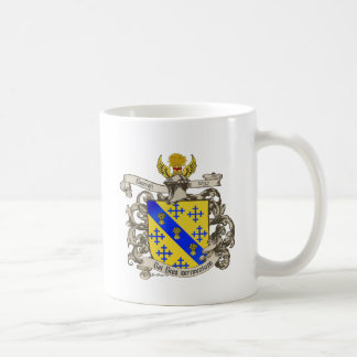 Coat of Arms of John Bancroft of Lynn, MA 1632 Coffee Mug