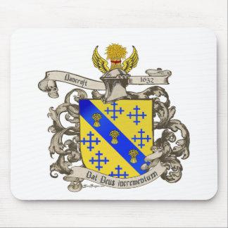 Coat of Arms of John Bancroft of Lynn, MA 1632 Mouse Pad