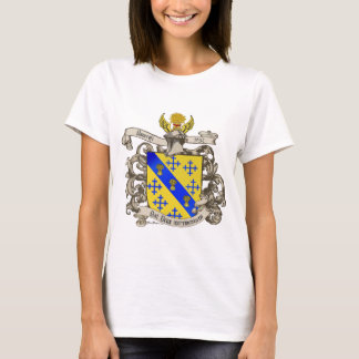 Coat of Arms of John Bancroft of Lynn, MA 1632 T-Shirt