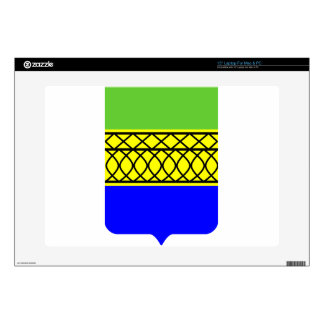 "Coat_of_Arms_of_Kambarka_rayon_(Udmurtia) Decal For 15"" Laptop"