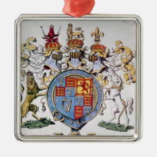 Coat of Arms of King James I of England Christmas Ornaments