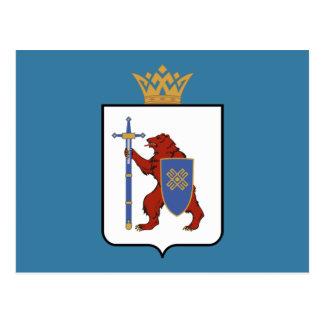 Coat of arms of Mari El Postcard