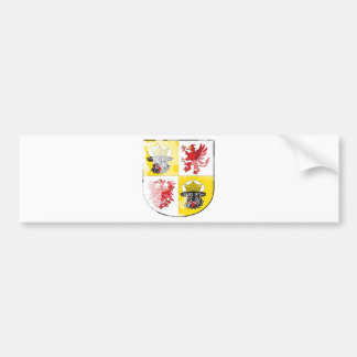 Coat of arms of Mecklenburg Western Pomerania Bumper Stickers