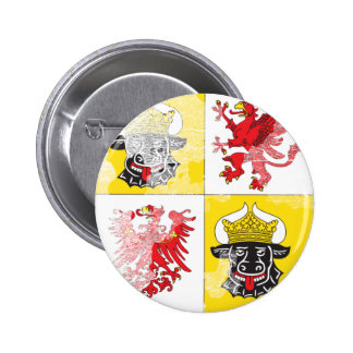 Coat of arms of Mecklenburg Western Pomerania Pinback Button
