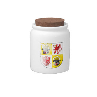 Coat of arms of Mecklenburg Western Pomerania Candy Jars