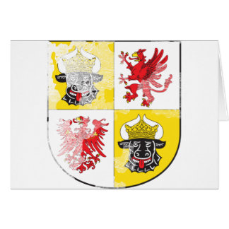 Coat of arms of Mecklenburg Western Pomerania Greeting Card